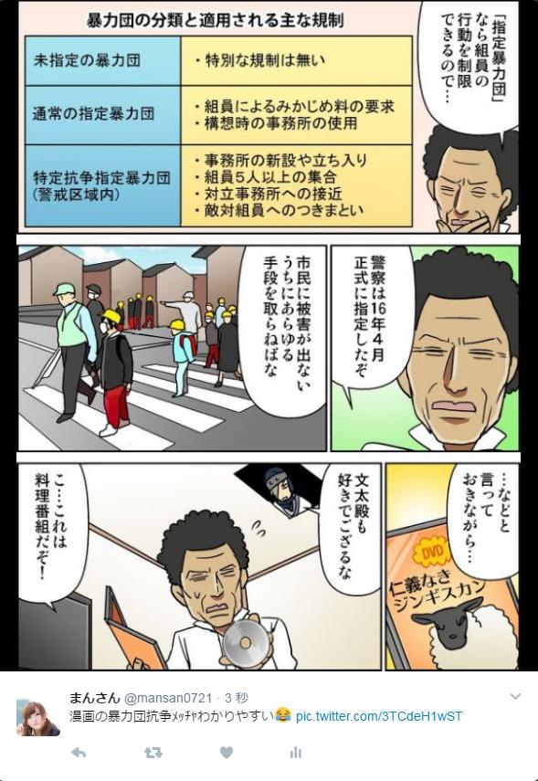 暴力団抗争漫画
