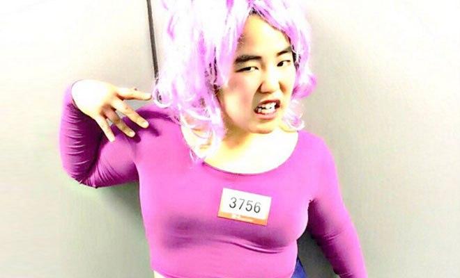 紫ヘアのゆりやんレトリィバァ